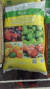 potting mix Fruit and citrus mix